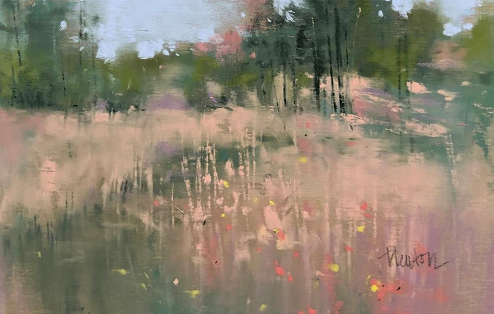 """Meadow 2"" original fine art by Barbara Benedetti Newton"