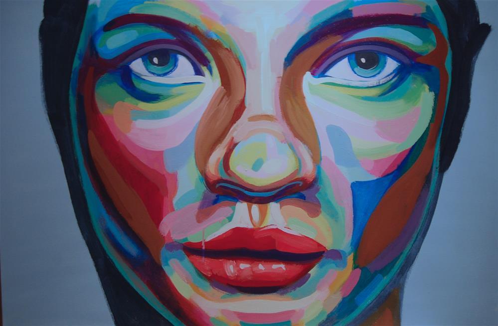 """""""color contact 5"""" original fine art by michael vigneux"""