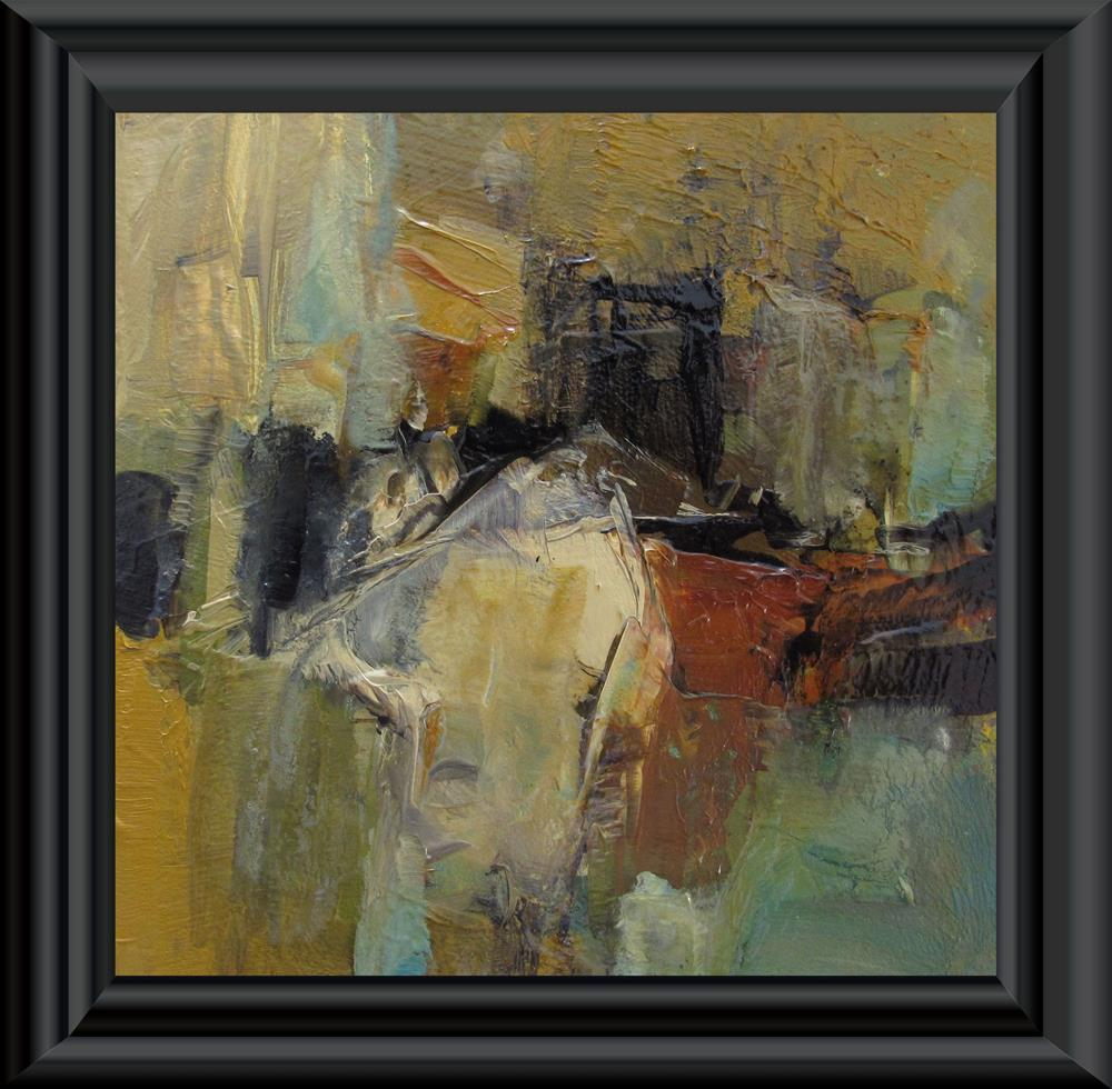 """ALL THAT JAZZ Original ABSTRACT Art Painting OIL"" original fine art by Colette Davis"
