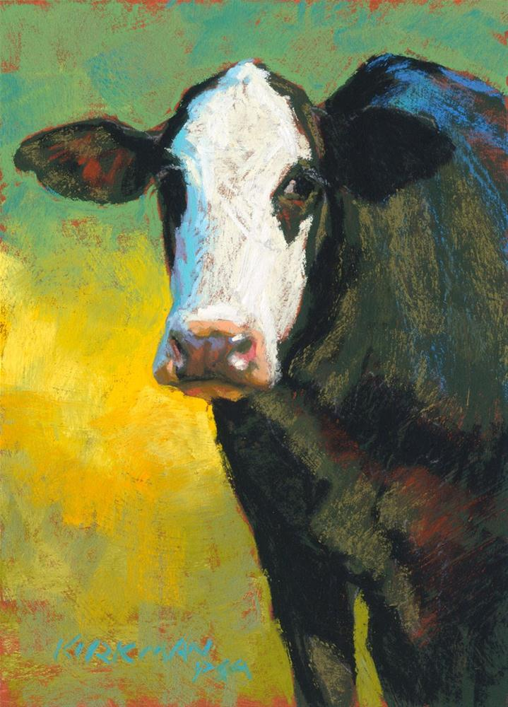 """Checkers"" original fine art by Rita Kirkman"