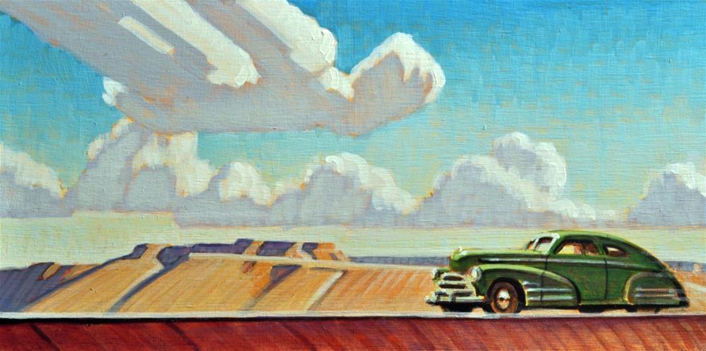 """""""Desert Skies"""" original fine art by Robert LaDuke"""