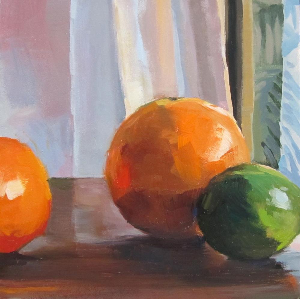 """citrus"" original fine art by Kaethe Bealer"