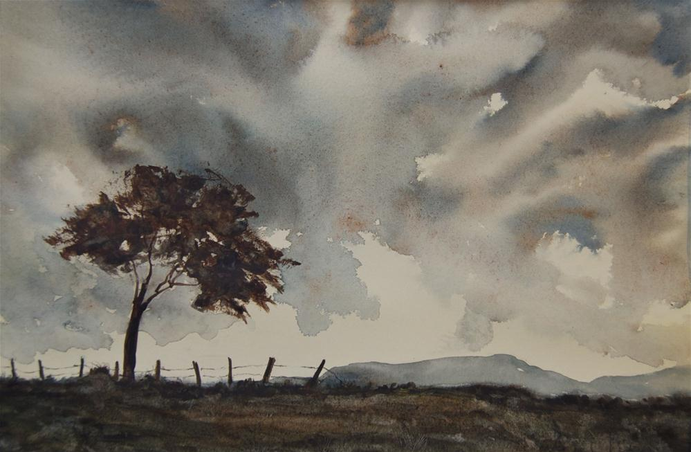 """Winter's Day"" original fine art by Jean Lurssen"