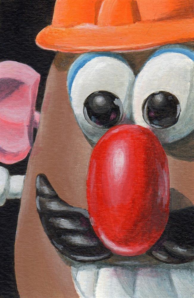 """""""Mischief"""" original fine art by Debbie Shirley"""