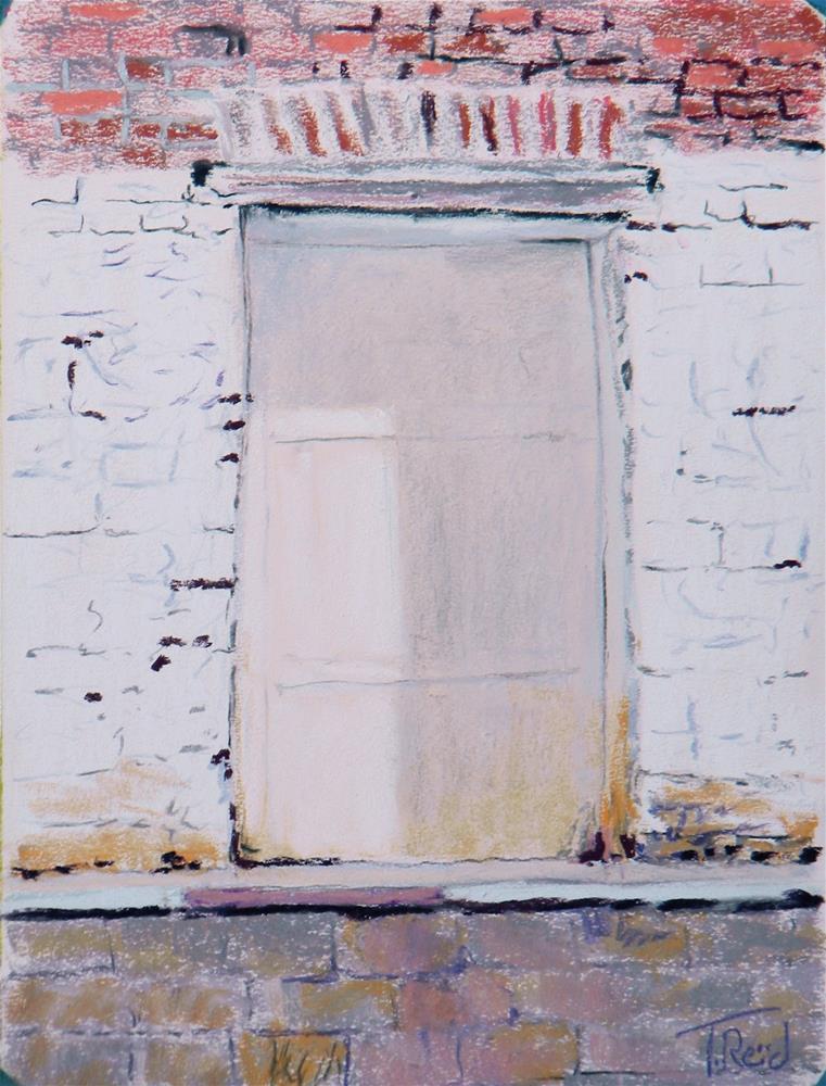 """""""Buford Loading Dock"""" original fine art by Toby Reid"""