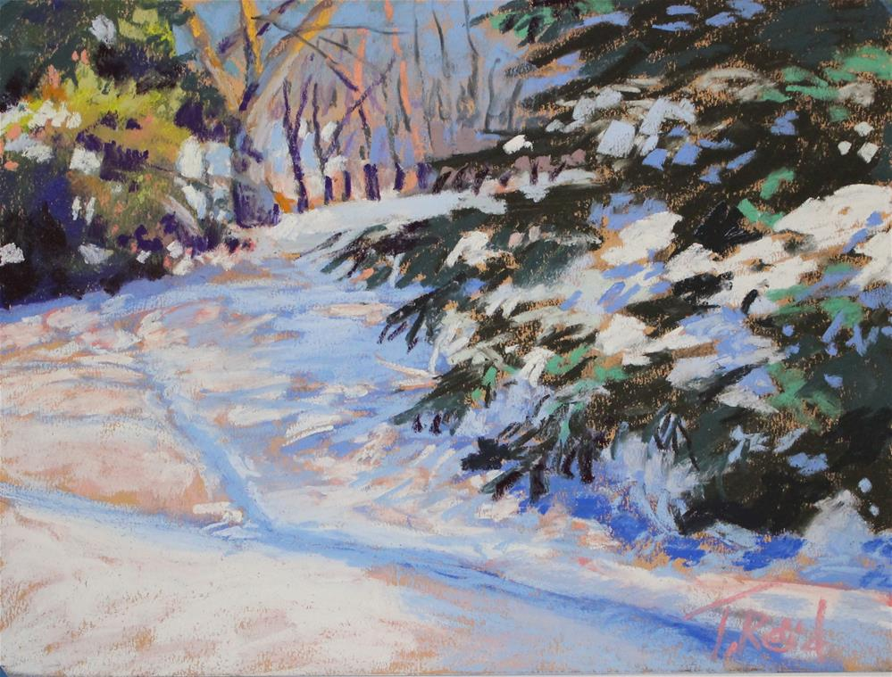 """Around the Bend"" original fine art by Toby Reid"