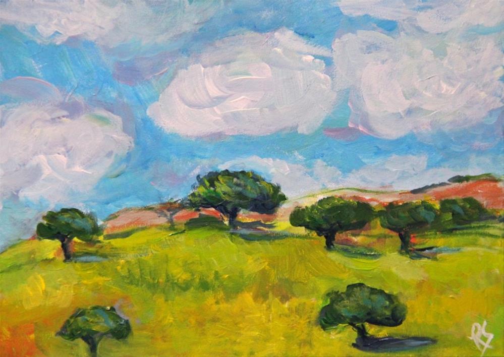 """A Quiet Afternoon"" original fine art by Roberta Schmidt"