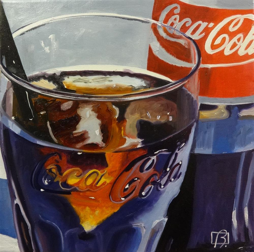 """""""It's the Real Thing"""" original fine art by Andre Beaulieu"""