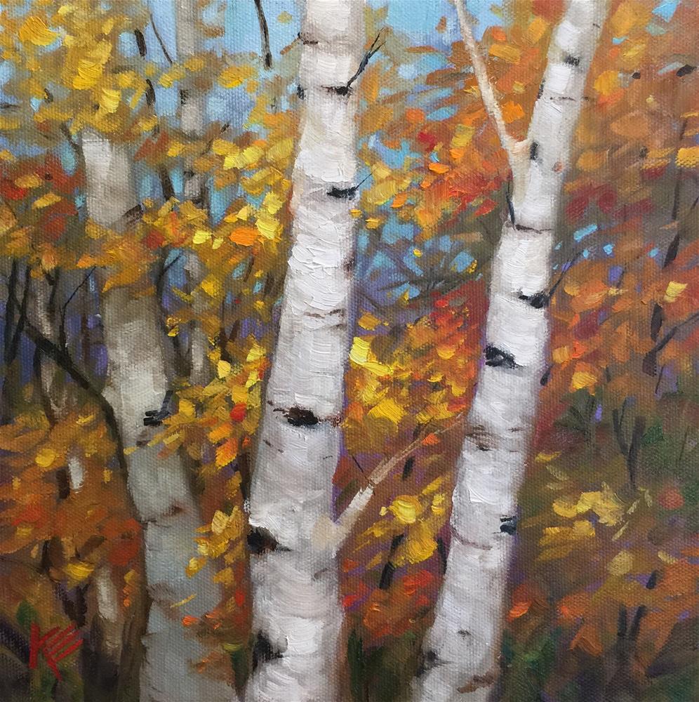 """Fall Patterns"" original fine art by Krista Eaton"