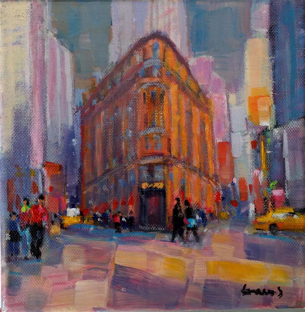 """New-York #3"" original fine art by salvatore greco"
