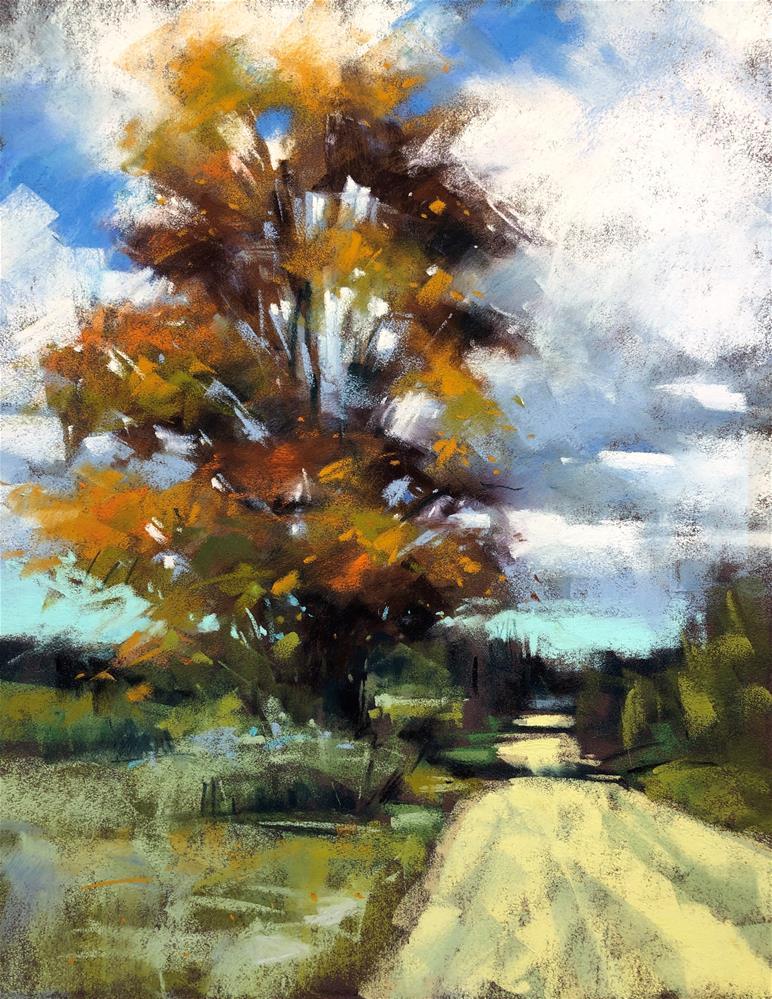 """""""October Light"""" original fine art by Marla Baggetta"""