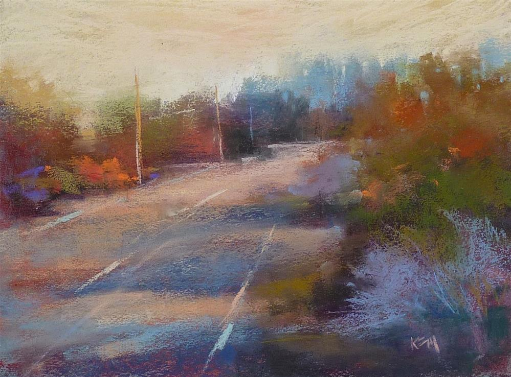 """""""Make Corrections to a  Pastel with this Simple Tip"""" original fine art by Karen Margulis"""