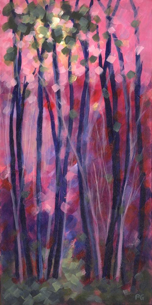 """Red Sky at Morning"" original fine art by Pamela Gatens"