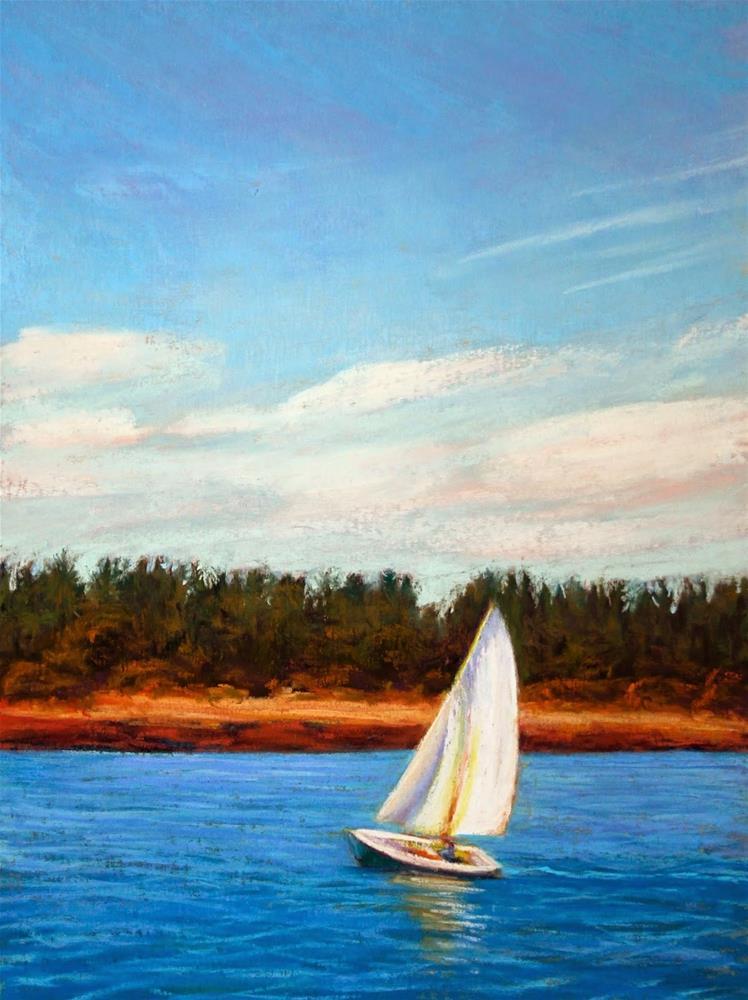 """Weekend Escape"" original fine art by Sharon Lewis"