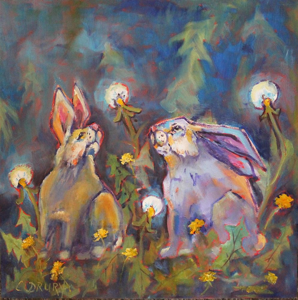 """Enlightened"" original fine art by Colleen Drury"