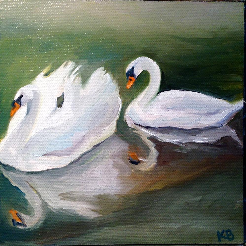 """""""Forever Love"""" original fine art by Kim Boyer"""