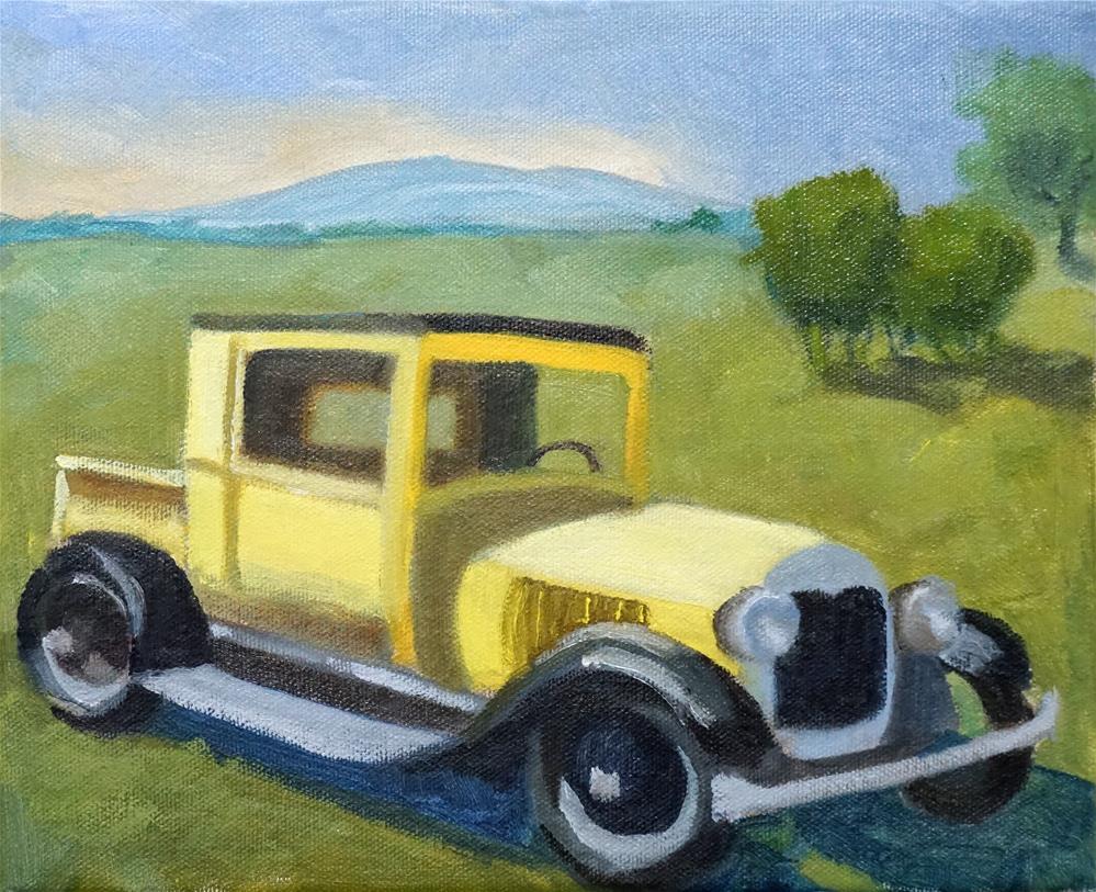 """Old US Forest Service"" original fine art by Catherine Van Berg"
