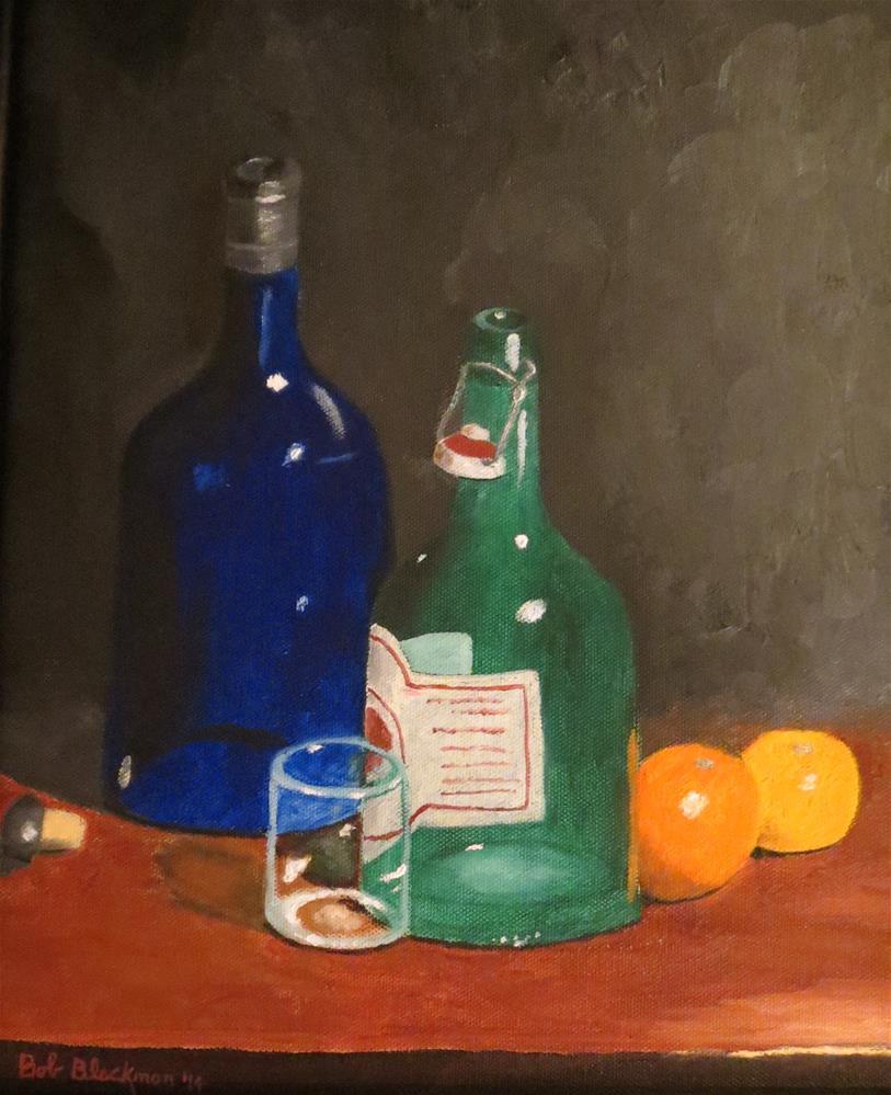 """Ginger Brew and Sherry"" original fine art by Bob Blackmon"