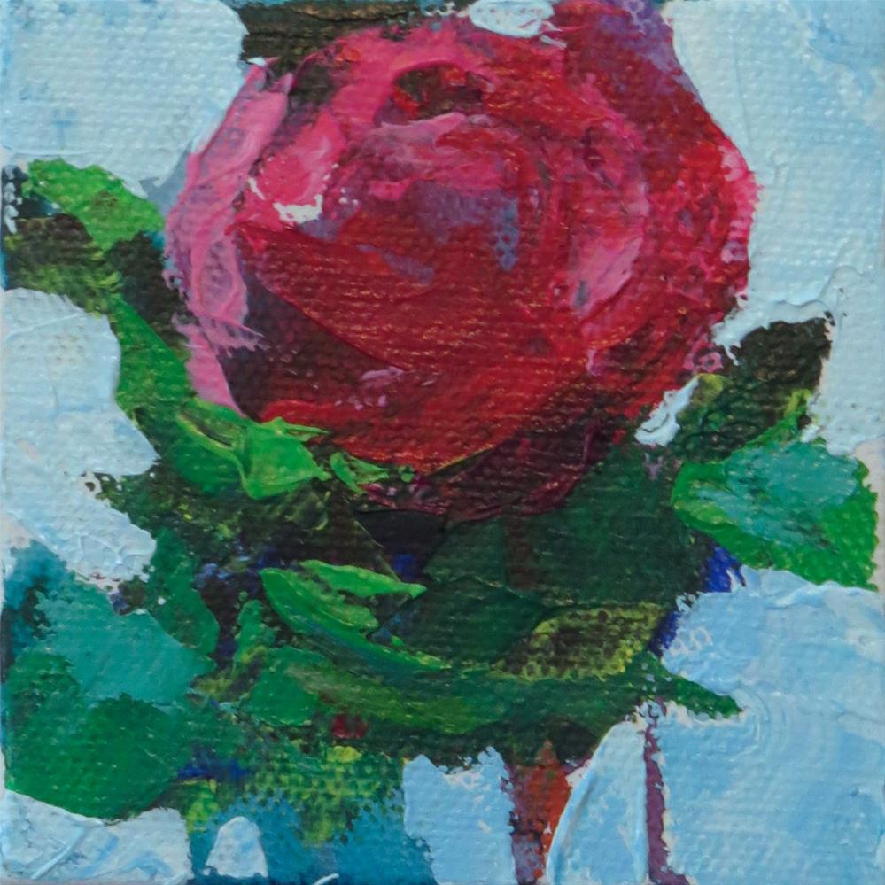 """Hot Rose"" original fine art by Marsha Savage"