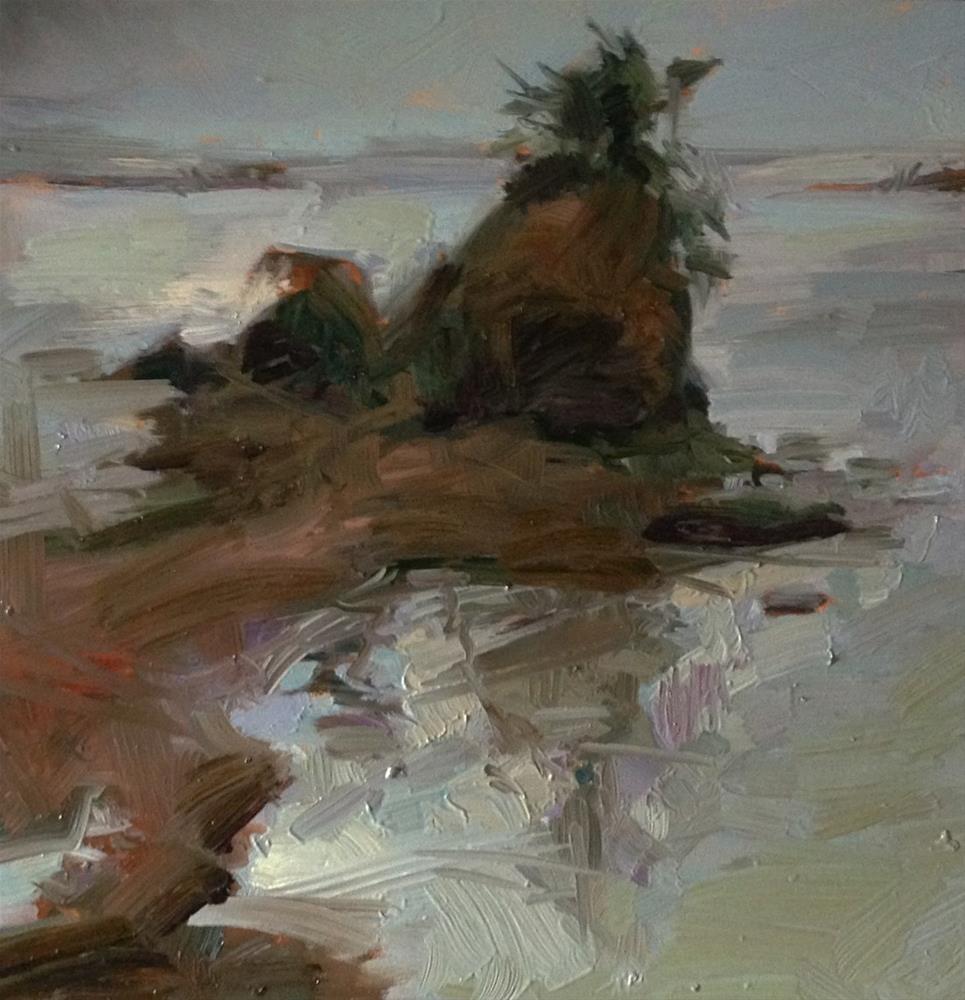 """Waterfront Property"" original fine art by Patti McNutt"