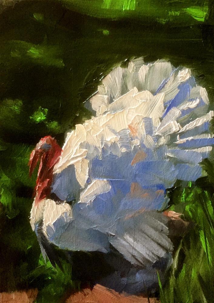 """Strut"" original fine art by Gary Bruton"