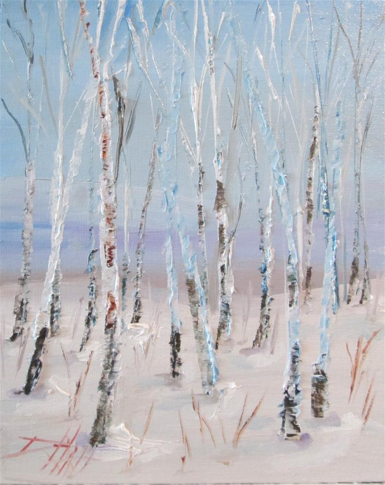 """Aspen"" original fine art by Delilah Smith"