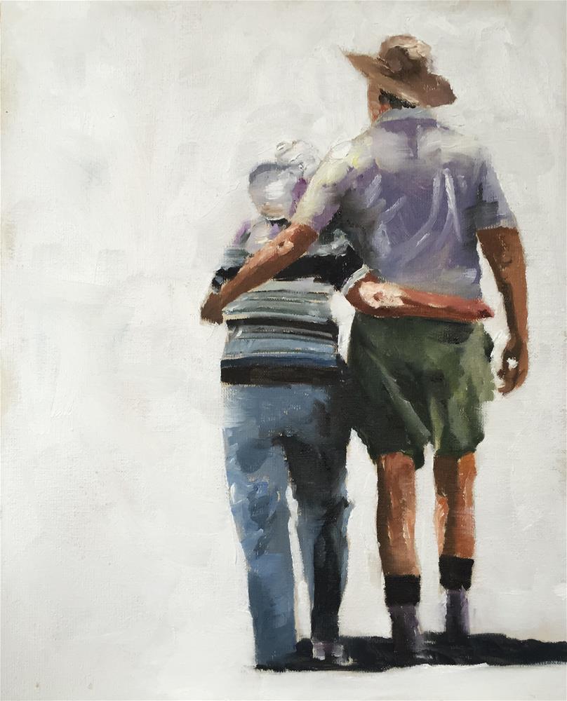 """Best Friends"" original fine art by James Coates"