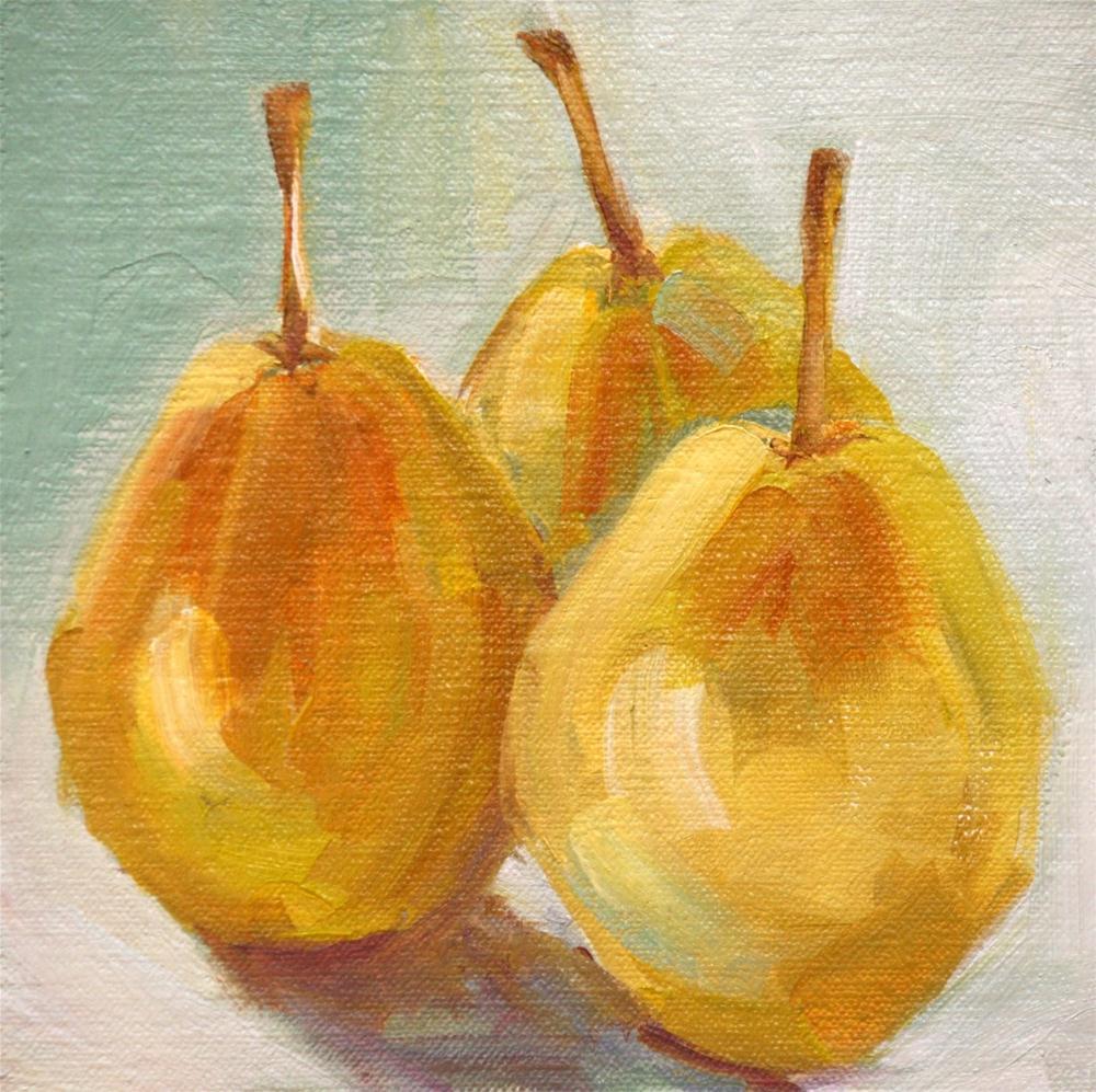 """long stems"" original fine art by Carol Carmichael"