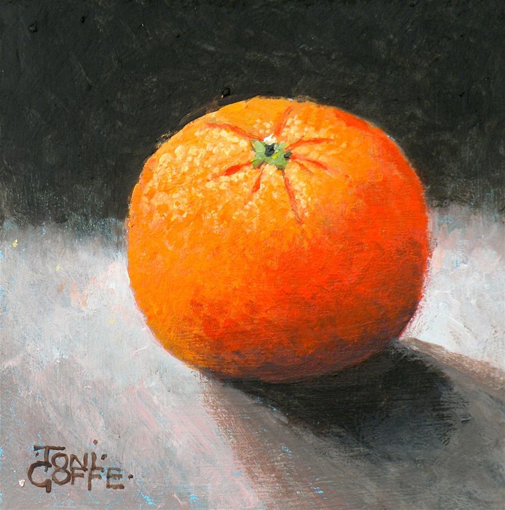 """Satsuma 1"" original fine art by Toni Goffe"
