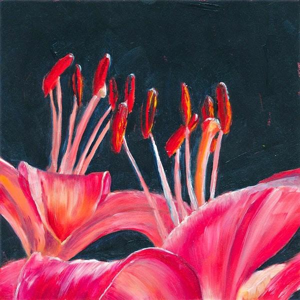 """Rejoice"" original fine art by Brenda Ferguson"
