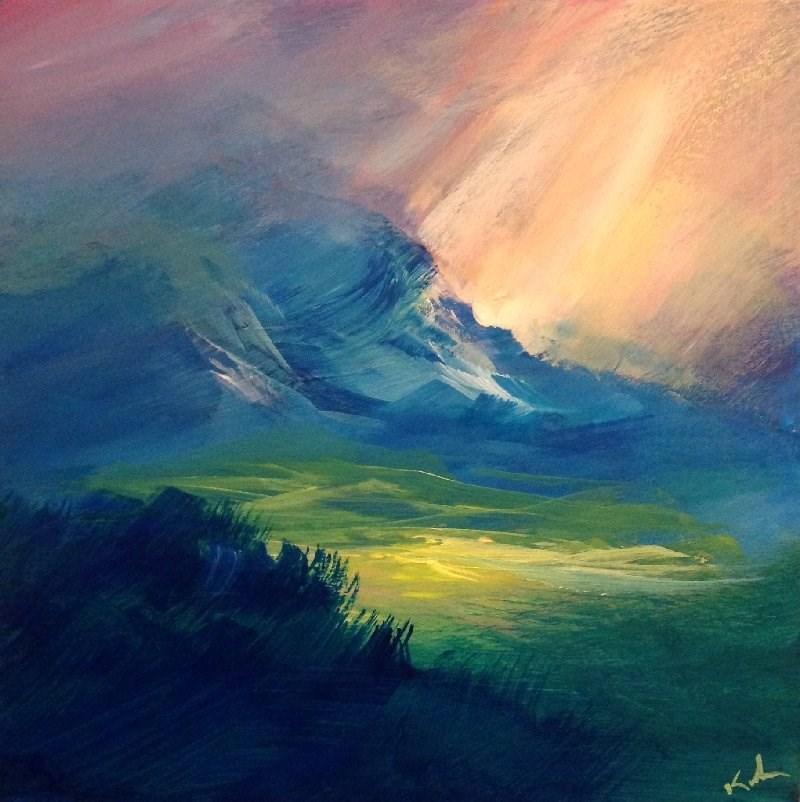 """""""Days of Being"""" original fine art by David Kuhn"""