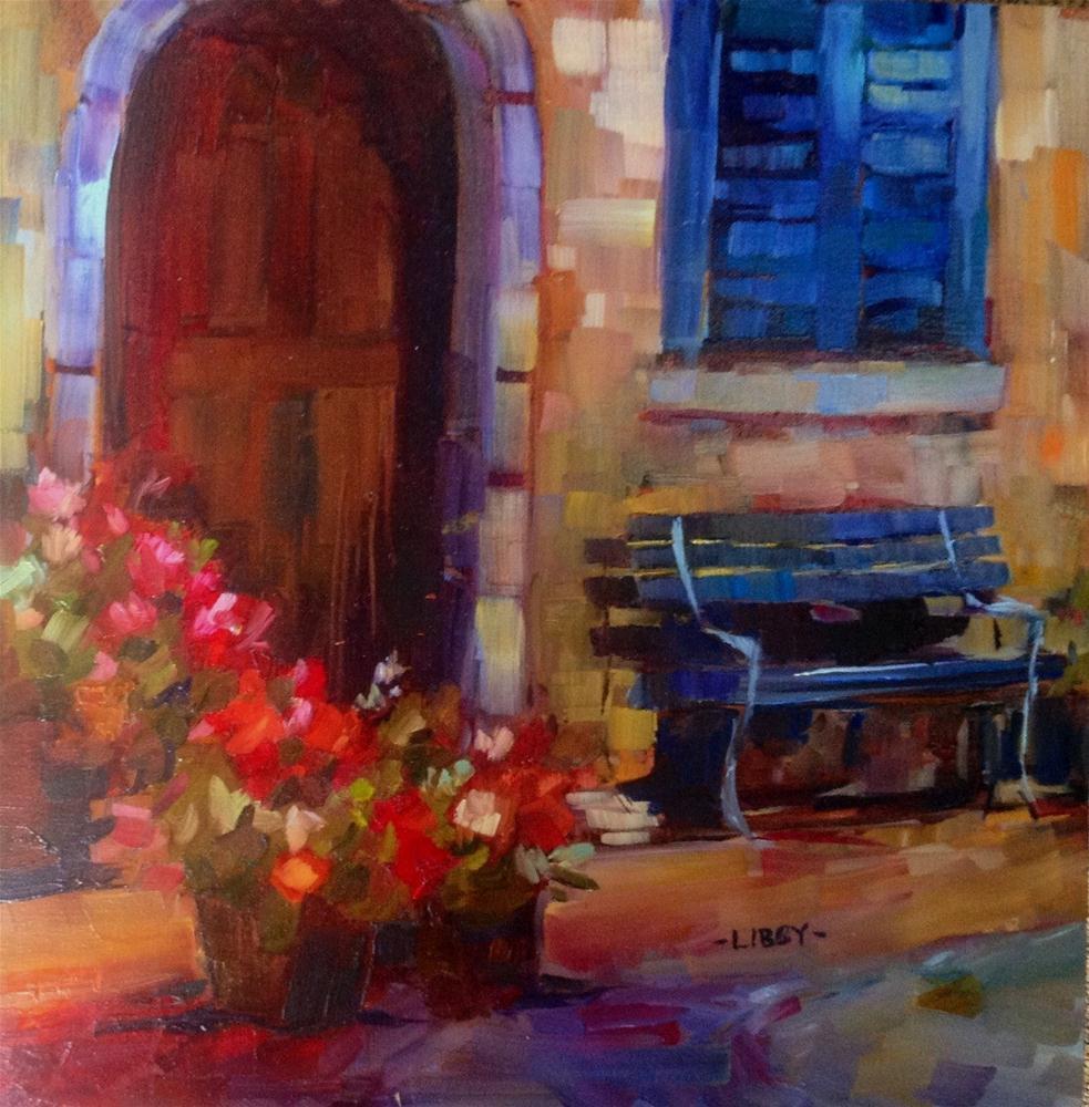 """Doorway"" original fine art by Libby Anderson"
