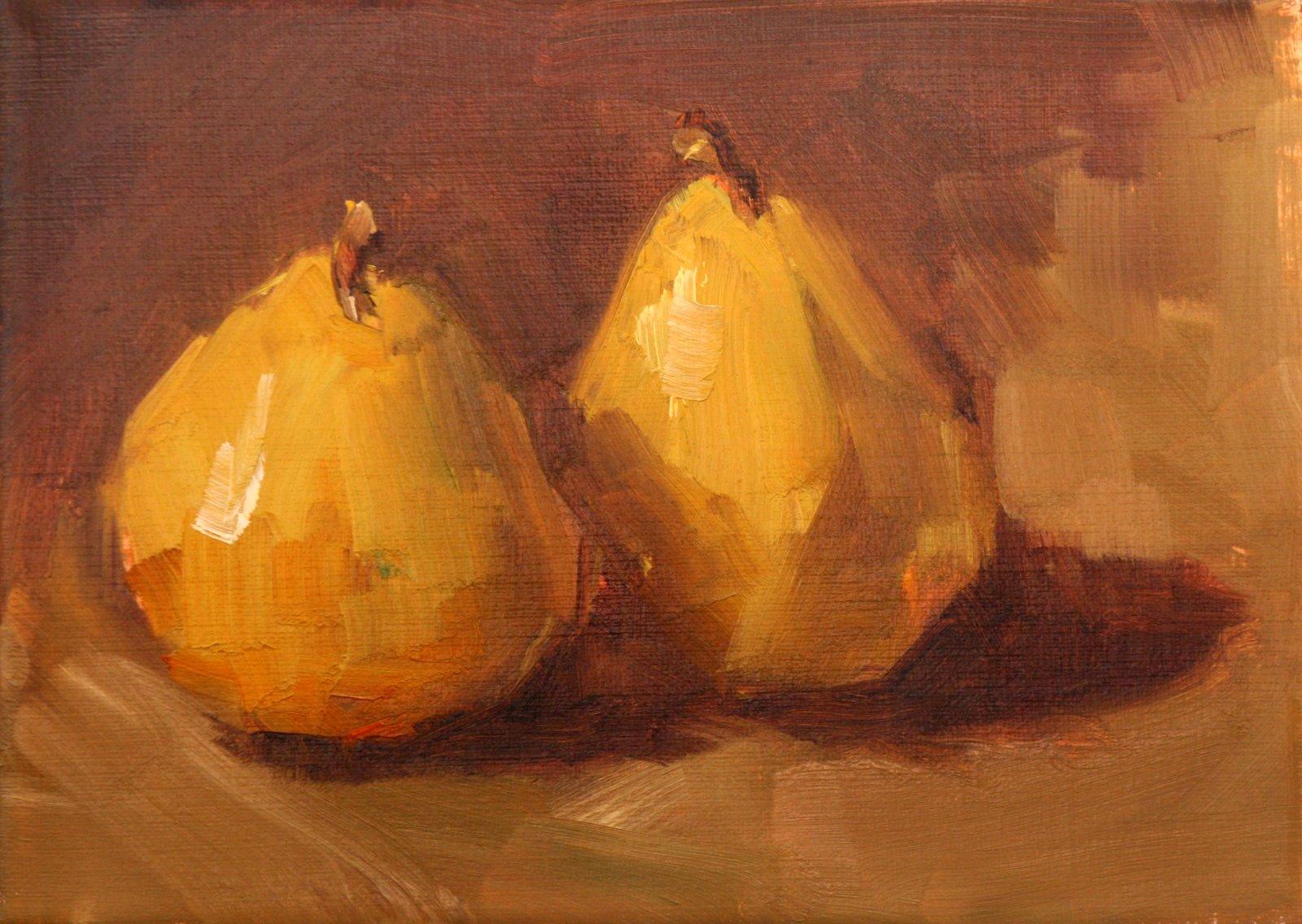 """a good pair"" original fine art by Carol Carmichael"
