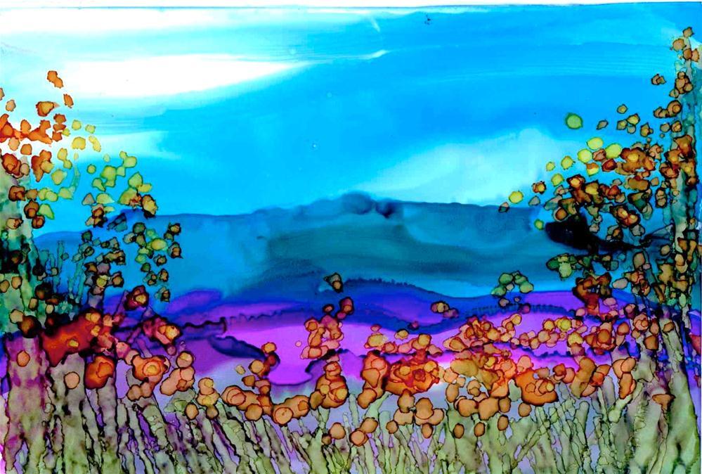 """""""Meadow"""" original fine art by Kelly Alge"""