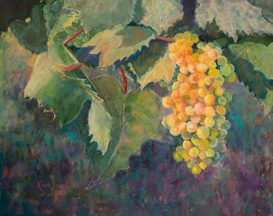 """""""A Very Good Year"""" original fine art by karen israel"""