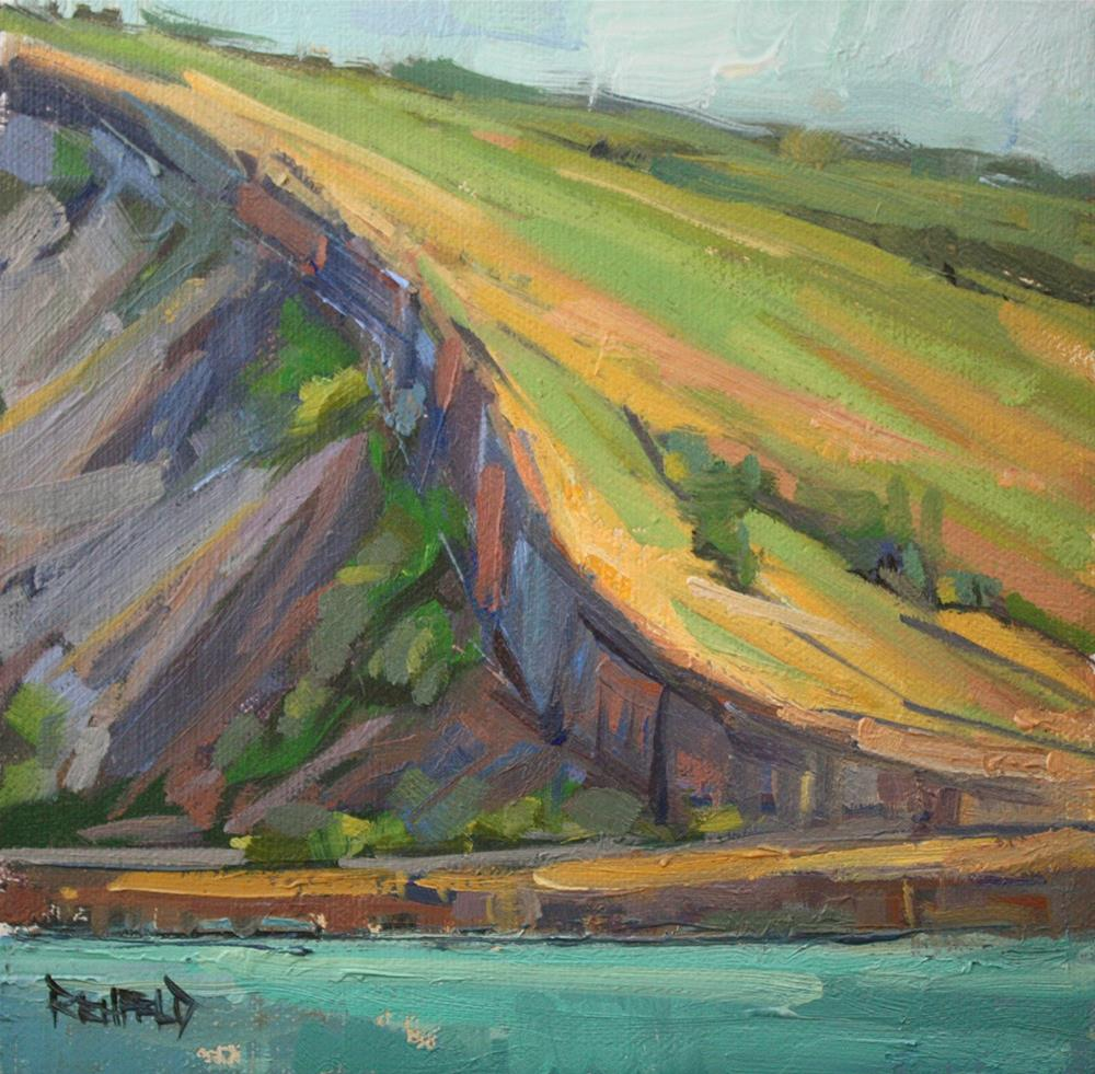 """Syncline Trail"" original fine art by Cathleen Rehfeld"