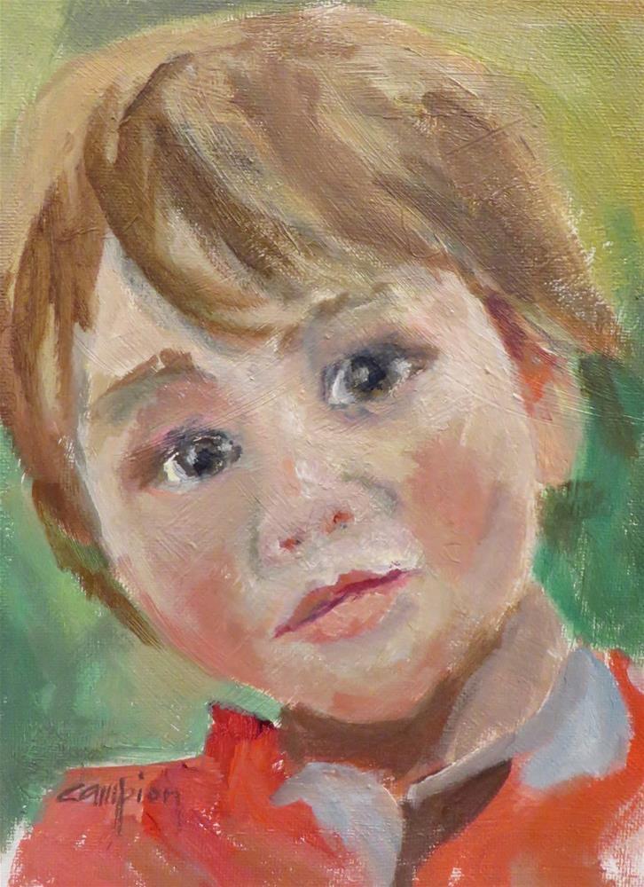 """""""760 Angelic"""" original fine art by Diane Campion"""