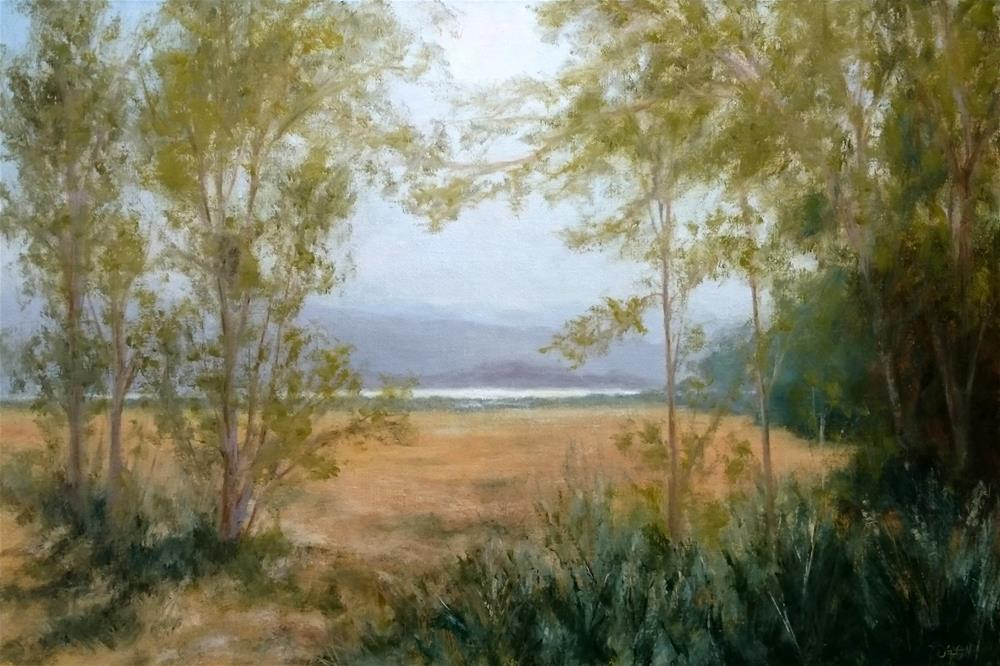 """Afternoon Light"" original fine art by Dalan Wells"