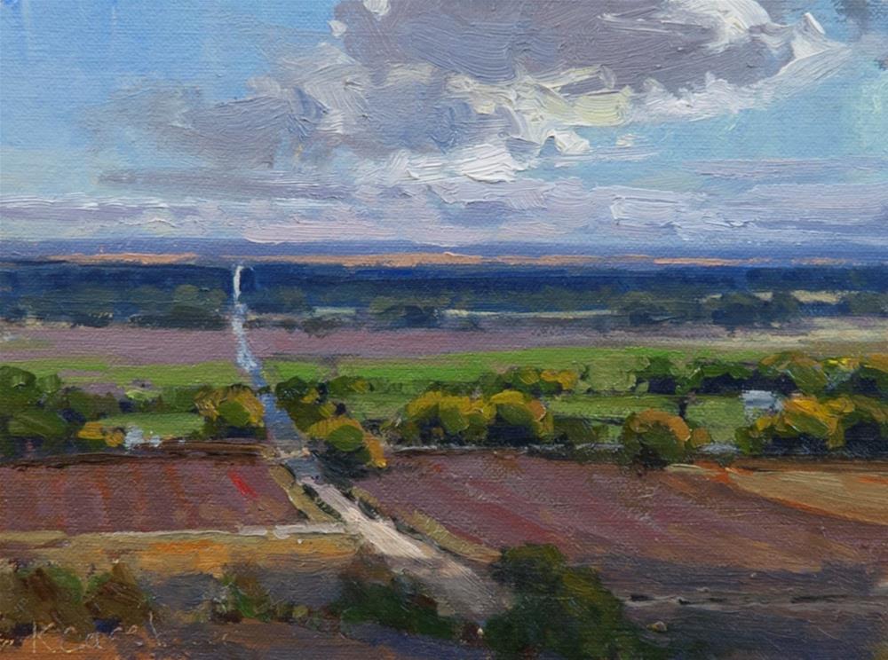 """""""Coronado Heights No. 2"""" original fine art by Kim Casebeer"""