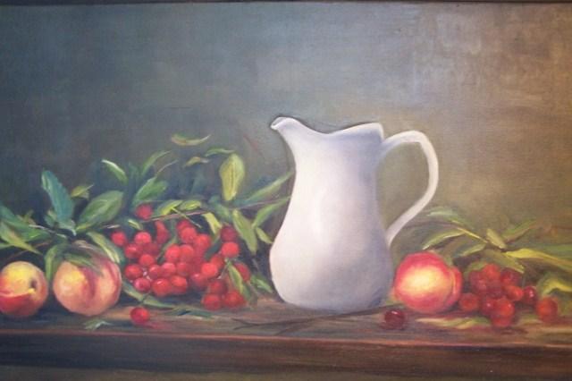 """Fruit of life"" original fine art by Astrid Buchhammer"