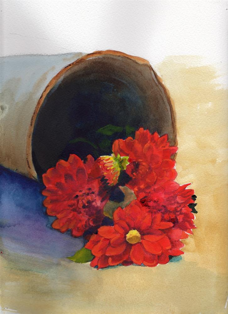 """Floral Still Life #1"" original fine art by Bunny Griffeth"