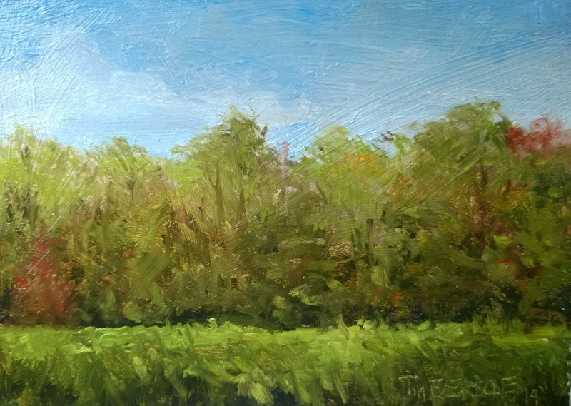 """Falls comimg"" original fine art by timothy eversole"