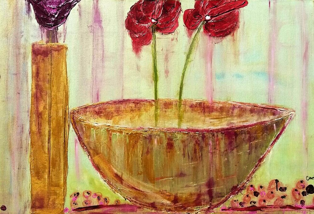 """Summer Bloom II"" original fine art by Christy Tremblay"