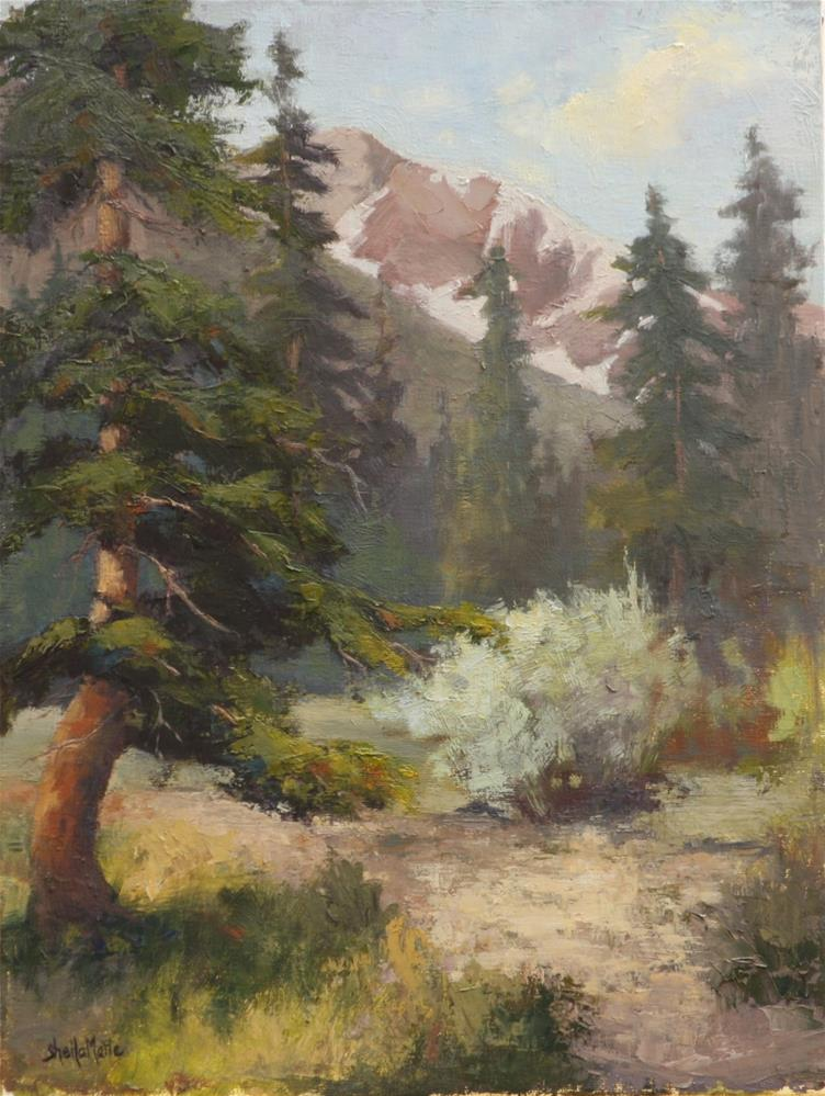 """Off the Path"" original fine art by Sheila Marie"
