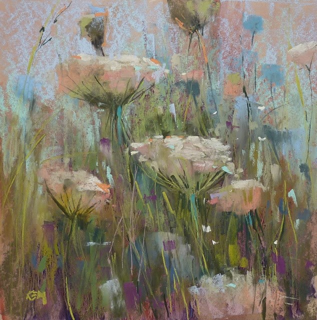 """""""How to Get Inspired to Get Back to the Easel"""" original fine art by Karen Margulis"""