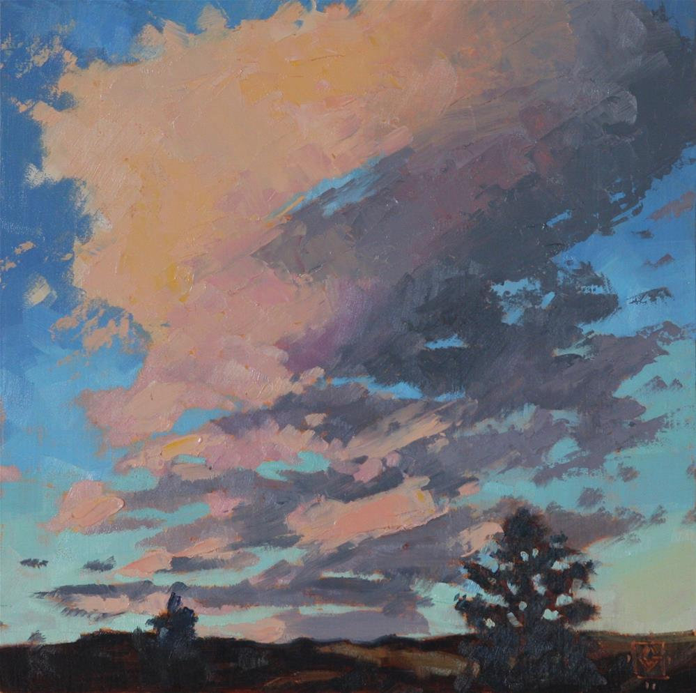 """Escalante Sunset"" original fine art by Carol Granger"
