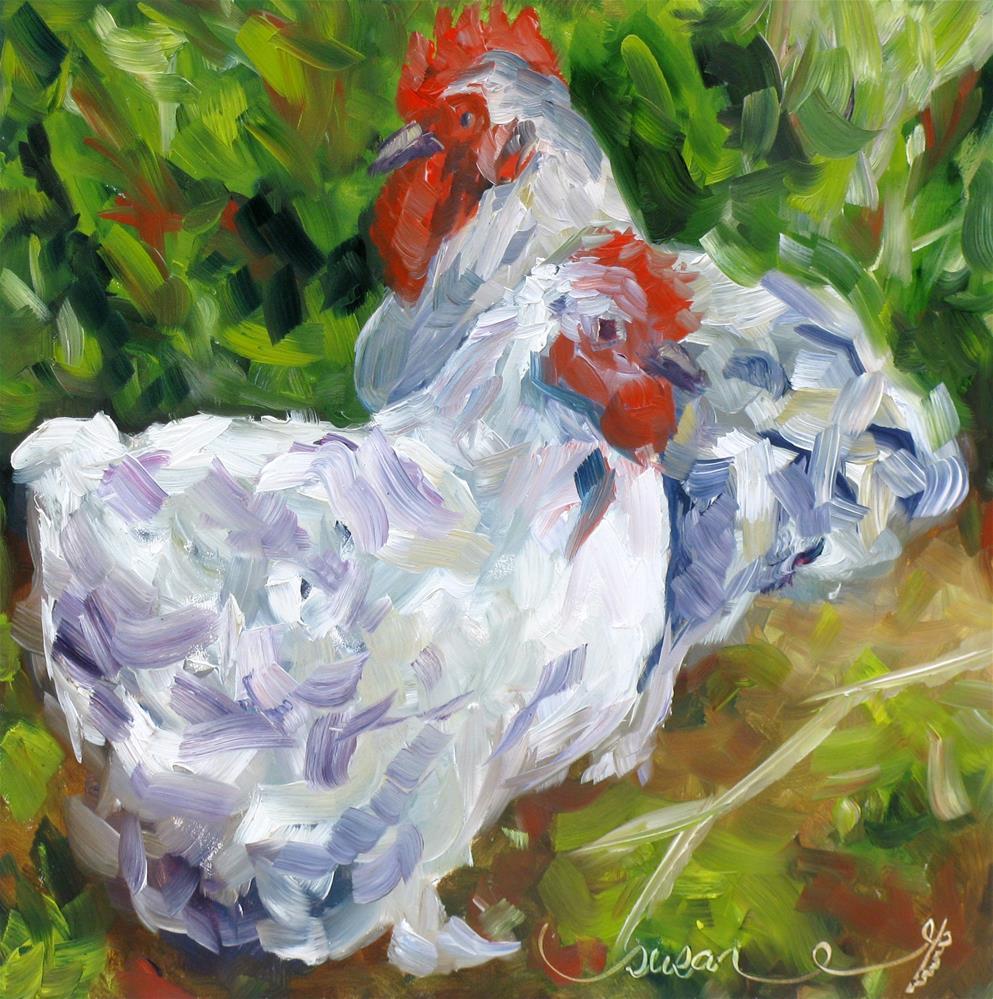 """Sunday Stroll"" original fine art by Susan Elizabeth Jones"