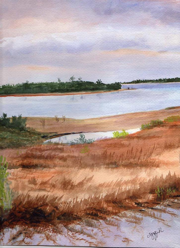 """Florida Seascape"" original fine art by Bunny Griffeth"