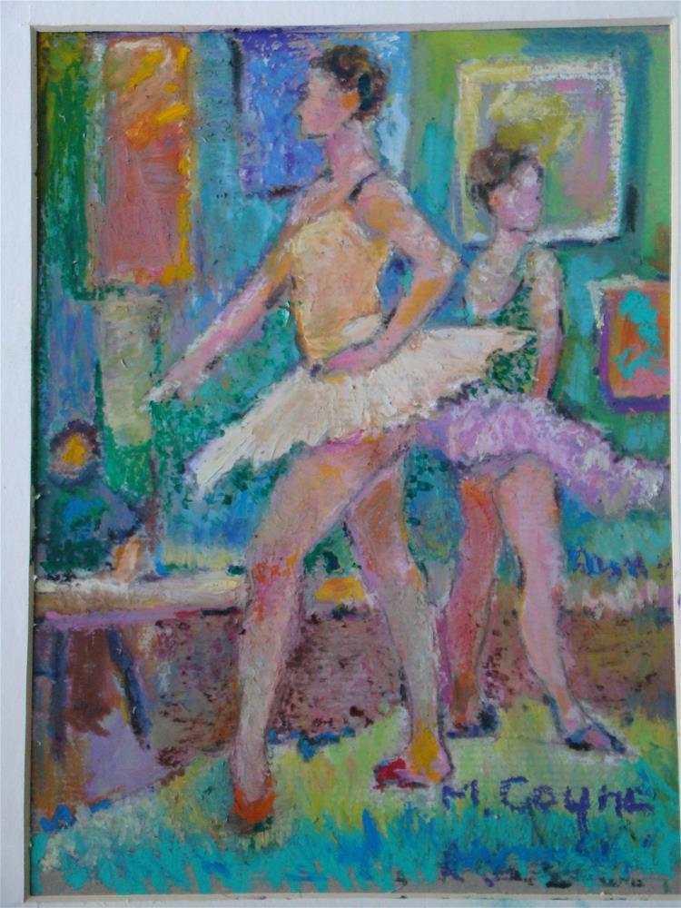 """""""ballet"""" original fine art by meribeth coyne"""