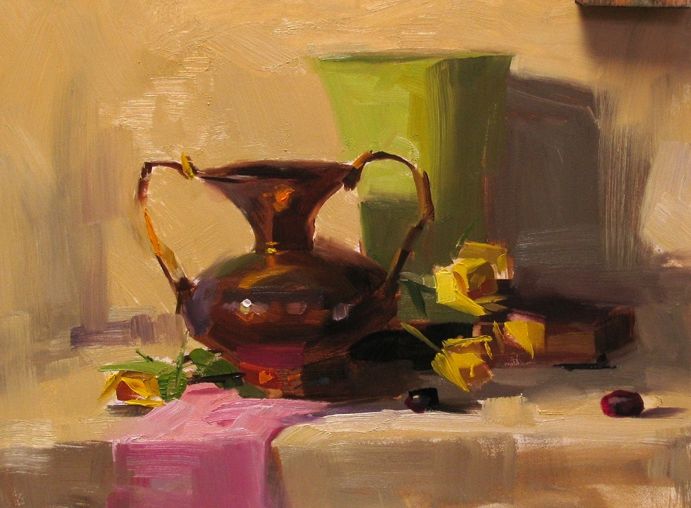 """""""Demo at Jacksonville 2012 2 --- Sold"""" original fine art by Qiang Huang"""